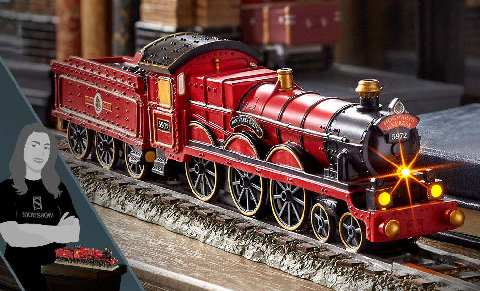 Gallery Feature Image of Hogwarts Express Figurine - Click to open image gallery
