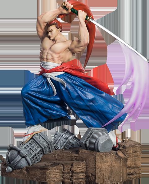 Gantaku Anime Genjuro Kibagami Statue