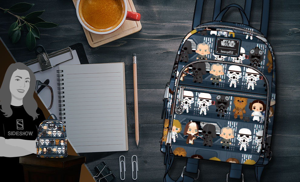 Gallery Feature Image of Star Wars A New Hope Chibi Mini Backpack Apparel - Click to open image gallery