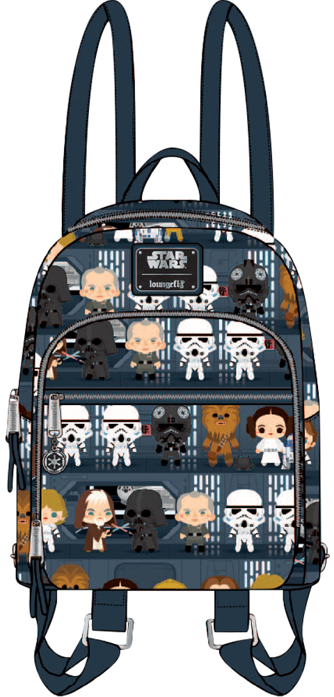 Loungefly Star Wars A New Hope Chibi Mini Backpack Apparel