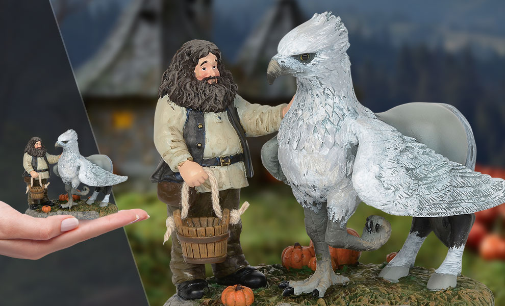 Gallery Feature Image of A Proud Hippogriff, Indeed Figurine - Click to open image gallery