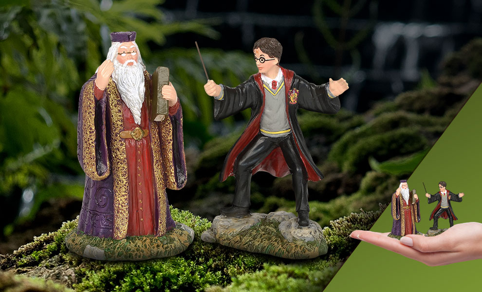 Gallery Feature Image of Harry and The Headmaster Figurine - Click to open image gallery