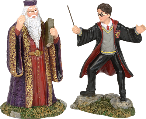 Department 56 Harry and The Headmaster Figurine