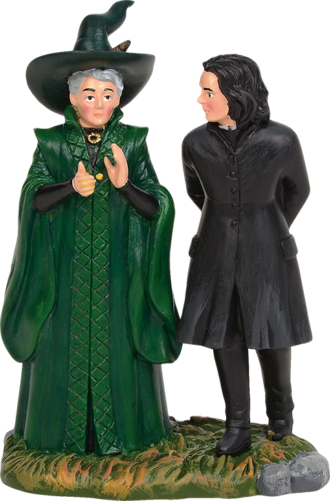 Department 56 Snape & McGonagall Figurine
