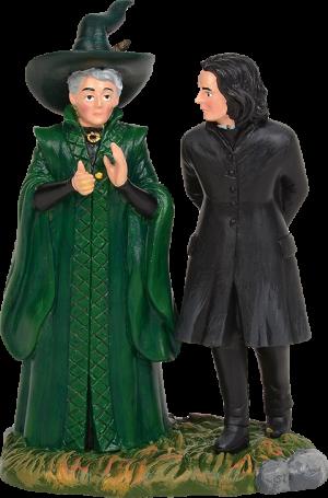 Snape & McGonagall Figurine