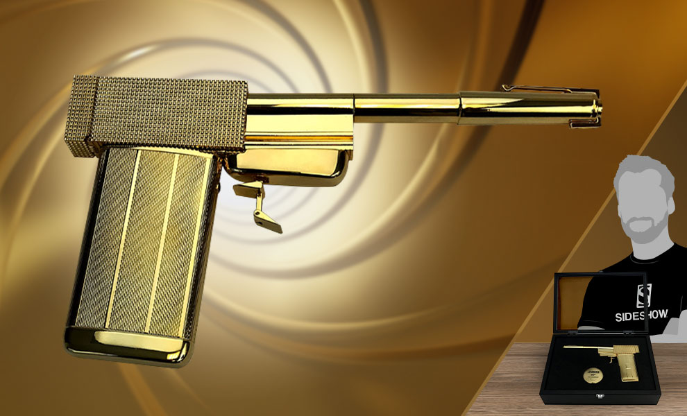 Gallery Feature Image of The Golden Gun Prop Replica - Click to open image gallery