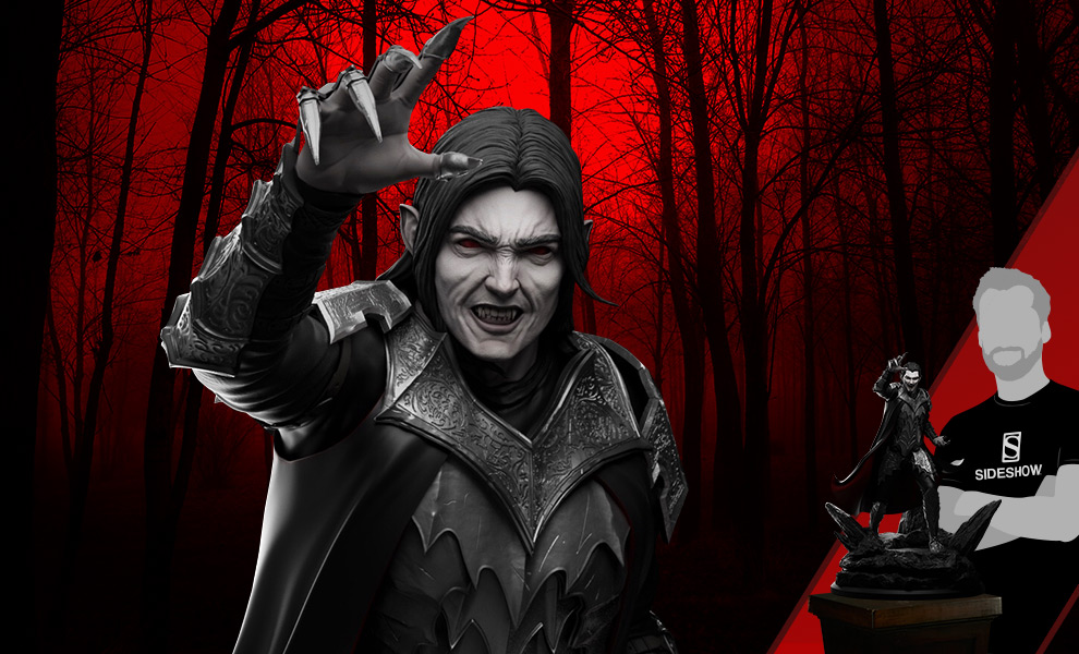Gallery Feature Image of Dracula Vampire King Statue - Click to open image gallery