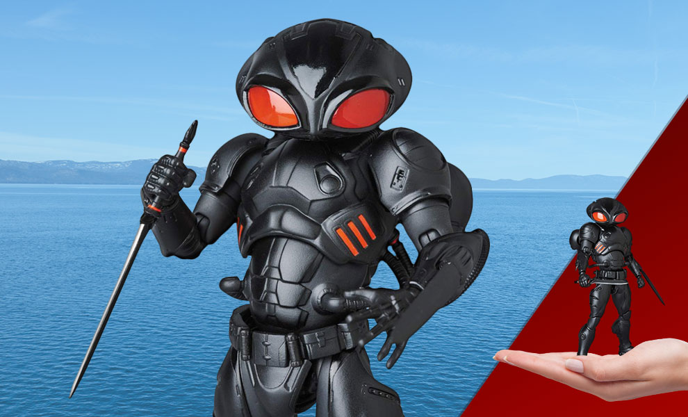 Gallery Feature Image of Black Manta Collectible Figure - Click to open image gallery