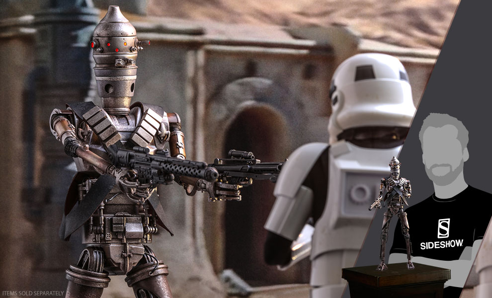Gallery Feature Image of IG-11 Sixth Scale Figure - Click to open image gallery