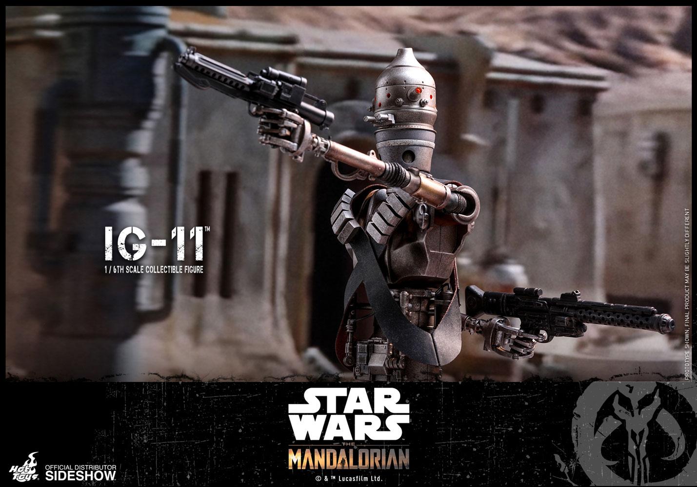 1//6 scal Gun Rifle Rack Military Blaster Star Wars hot toys sideshow Mandalorian
