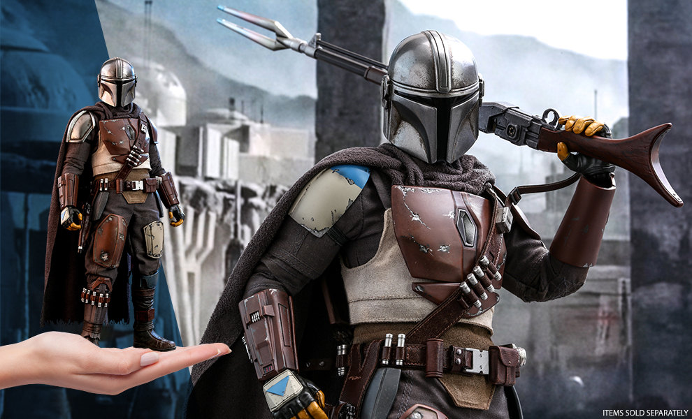 Gallery Feature Image of The Mandalorian Sixth Scale Figure - Click to open image gallery