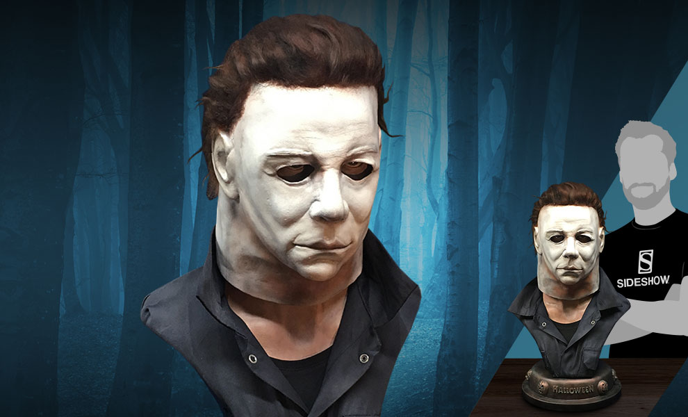 Gallery Feature Image of Michael Myers Life-Size Bust - Click to open image gallery