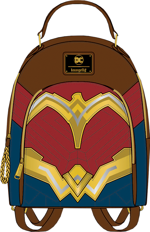 Loungefly Wonder Woman Mini Backpack Apparel