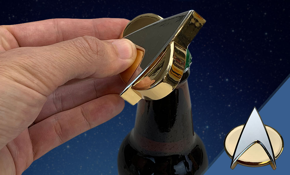Gallery Feature Image of Communicator Badge Bottle Opener Miscellaneous Collectibles - Click to open image gallery