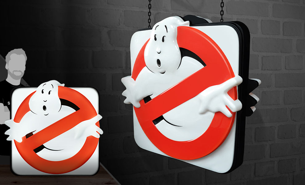 Gallery Feature Image of Ghostbusters Firehouse Sign Replica - Click to open image gallery