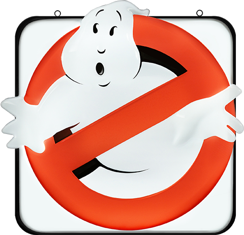 Hollywood Collectibles Group Ghostbusters Firehouse Sign Replica