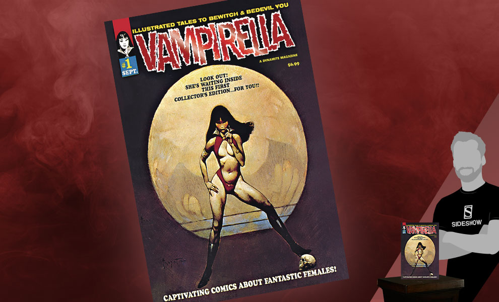 Gallery Feature Image of Vampirella #1 (1969) Limited Red Foil Version Book - Click to open image gallery
