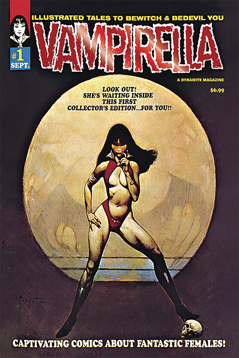 Dynamite Entertainment Vampirella #1 (1969) Limited Red Foil Version Book