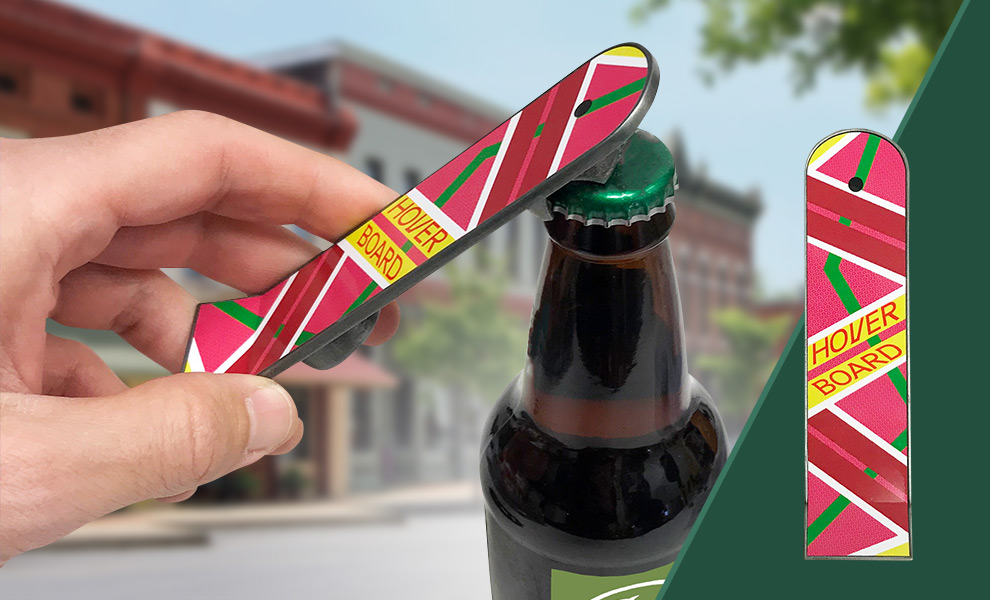 Gallery Feature Image of Marty McFly Hoverboard Bottle Opener Miscellaneous Collectibles - Click to open image gallery