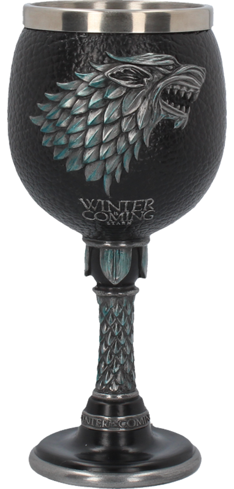 Nemesis Now Winter is Coming Goblet Collectible Drinkware