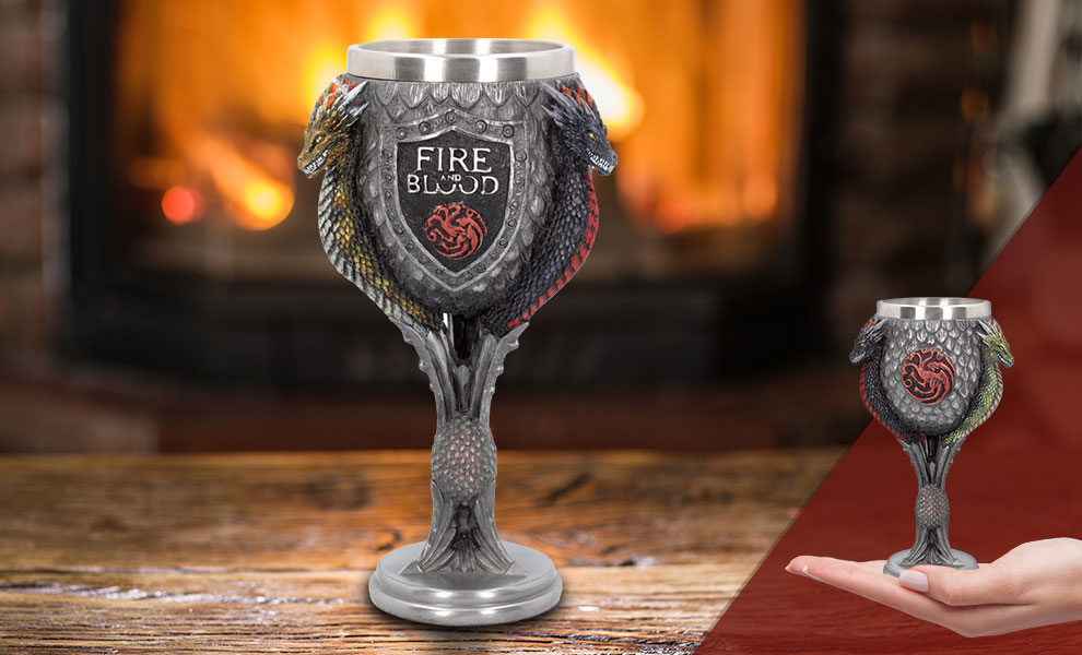 Gallery Feature Image of House Targaryen Goblet Collectible Drinkware - Click to open image gallery