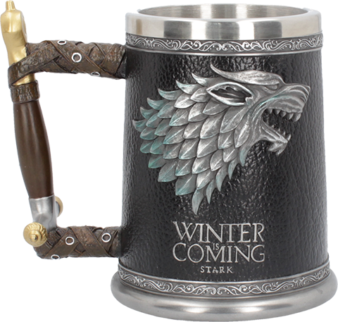 Nemesis Now Winter is Coming Tankard Collectible Drinkware