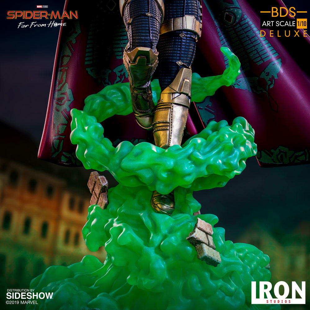Iron Studios Mysterio Deluxe Art Scale 1//10 Far From Home Spider-Man