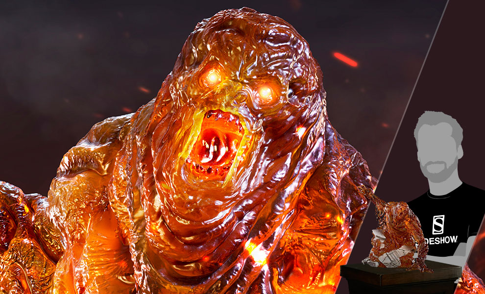 Gallery Feature Image of Molten Man 1:10 Scale Statue - Click to open image gallery