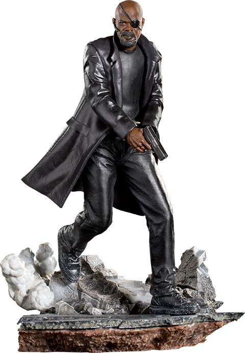 Iron Studios Nick Fury 1:10 Scale Statue