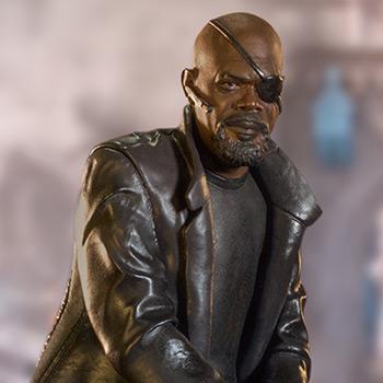 Nick Fury Marvel 1:10 Scale Statue