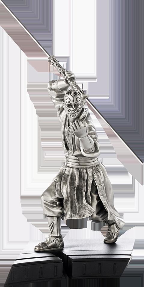 Royal Selangor Darth Maul Figurine Pewter Collectible