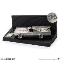 Gallery Image of Batman 80th Classic Batmobile Replica Pewter Collectible