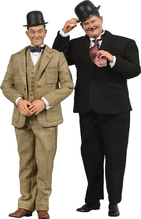 BIG Chief Studios Stan Laurel and Oliver Hardy (Classic Suits) Box Set