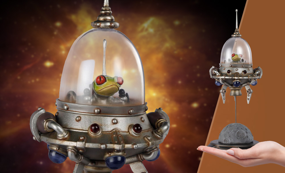 Gallery Feature Image of Search Small Spaceship Picoloid k-6 Statue - Click to open image gallery