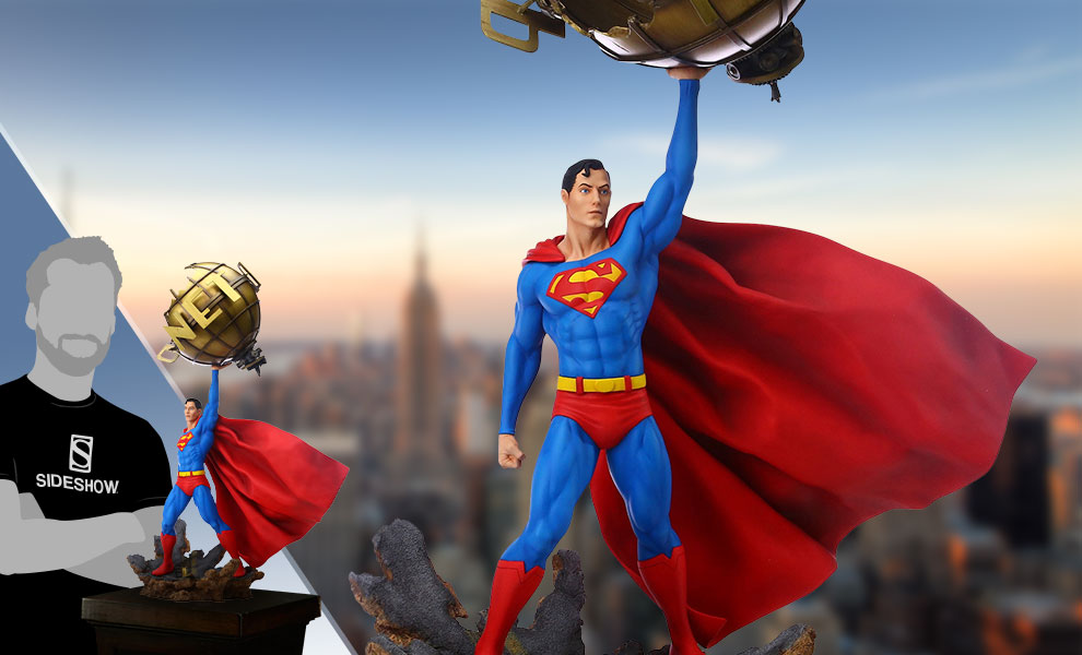 Gallery Feature Image of Superman Statue - Click to open image gallery