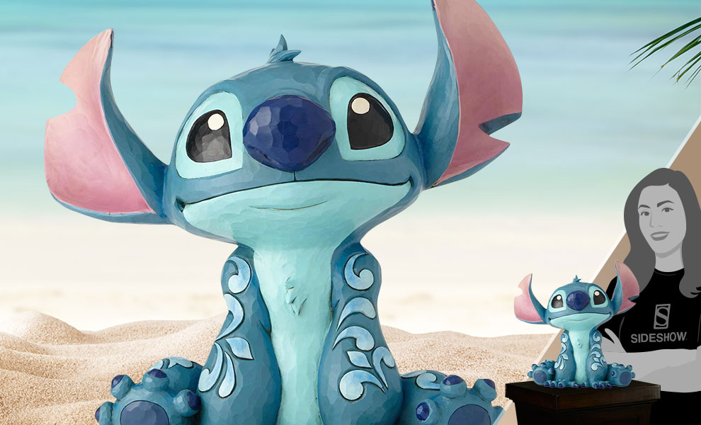Gallery Feature Image of Stitch Statue - Click to open image gallery