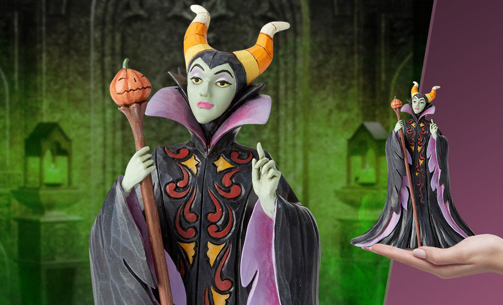 Gallery Feature Image of Maleficent Halloween Figurine - Click to open image gallery