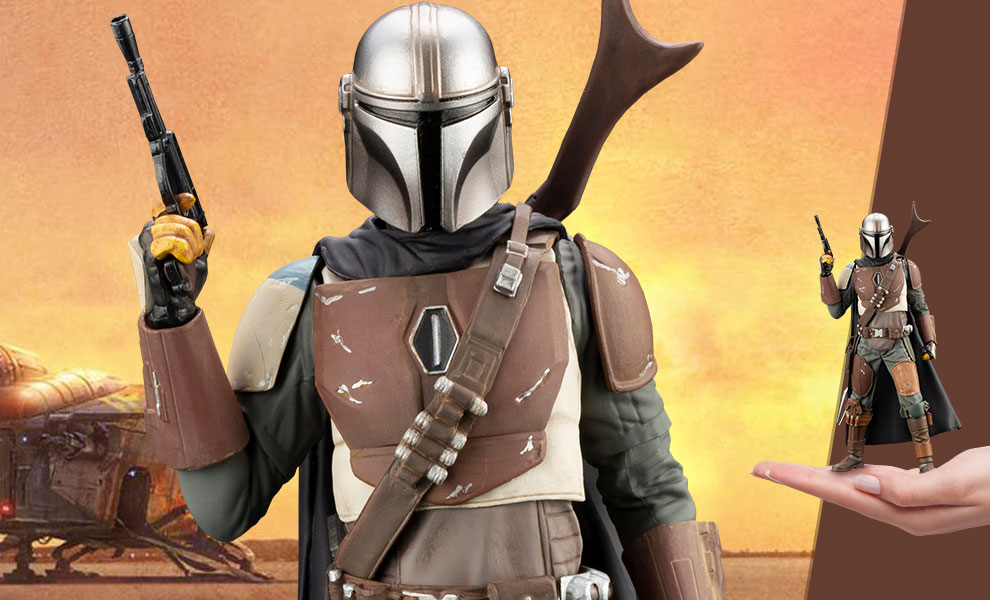 Gallery Feature Image of The Mandalorian Statue - Click to open image gallery