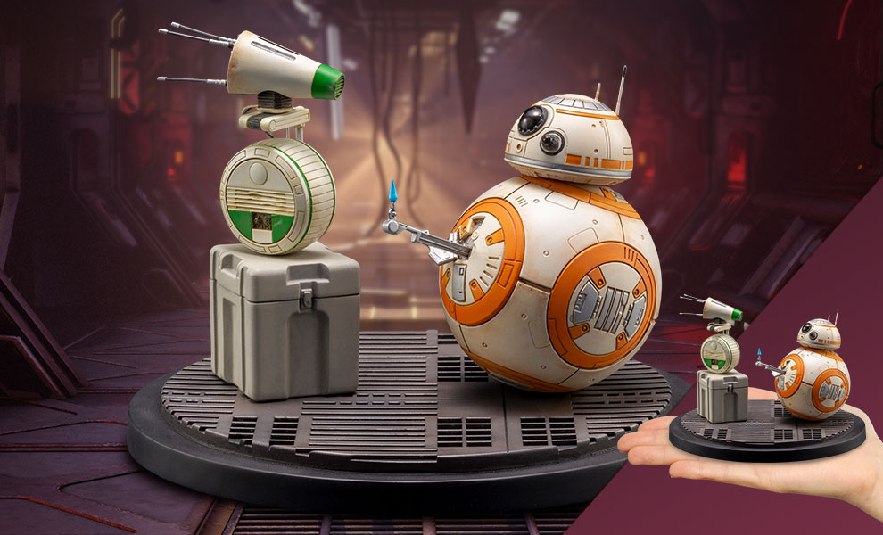 Gallery Feature Image of D-0 and BB-8 Statue - Click to open image gallery