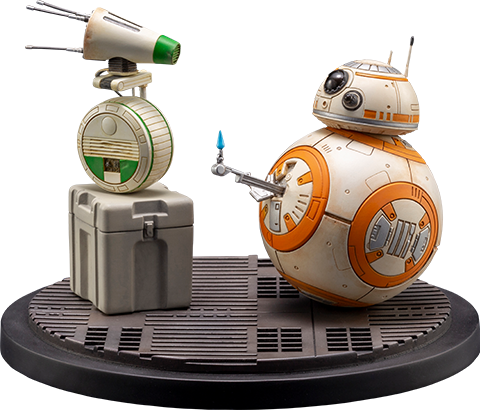 Kotobukiya D-0 and BB-8 Statue