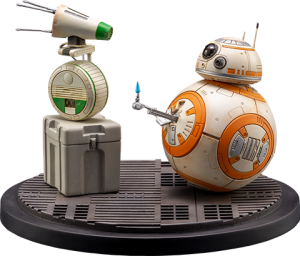 D-0 and BB-8 Statue