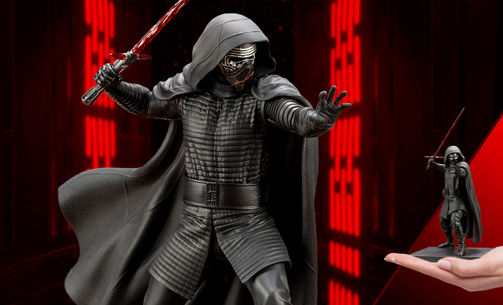 Gallery Feature Image of Kylo Ren 1:10 Scale Statue - Click to open image gallery