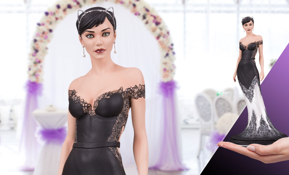 Gallery Feature Image of Catwoman (Wedding Dress) Statue - Click to open image gallery