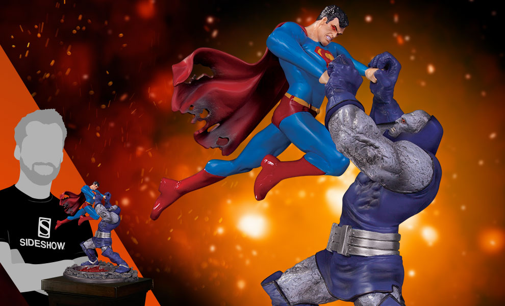 Gallery Feature Image of Superman vs Darkseid Battle Statue - Click to open image gallery
