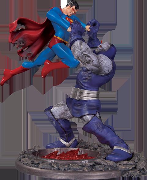 DC Direct Superman vs Darkseid Battle Statue