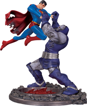 Superman vs Darkseid Battle Statue