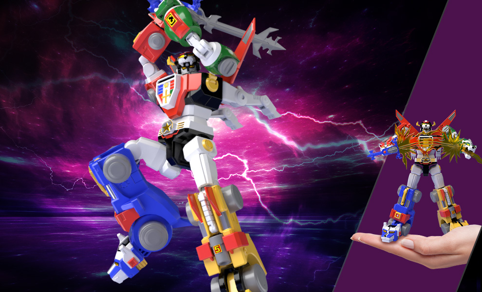 Gallery Feature Image of Voltron Collectible Set - Click to open image gallery