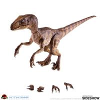 Gallery Image of Dr. Alan Grant and Velociraptor Sixth Scale Figure Set
