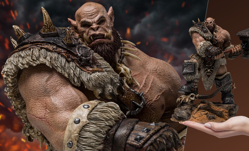 Gallery Feature Image of Orgrim (Standard Version) Statue - Click to open image gallery