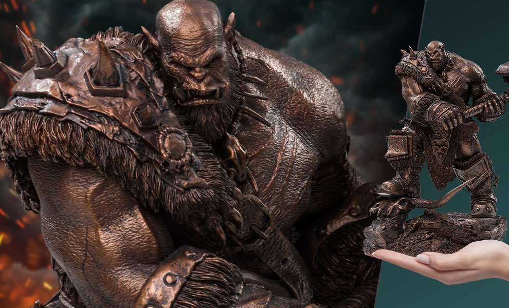 Gallery Feature Image of Orgrim (Imitation Bronze) Statue - Click to open image gallery